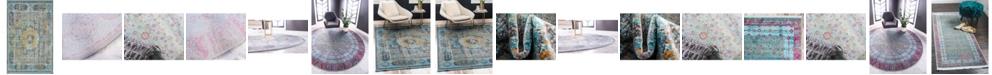 Bridgeport Home Kenna Ken2 Blue Area Rug Collection