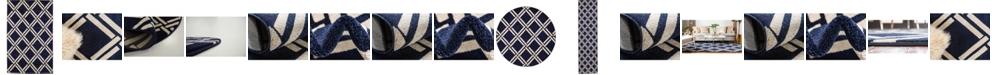 Bridgeport Home Arbor Arb4 Navy Blue Area Rug Collection