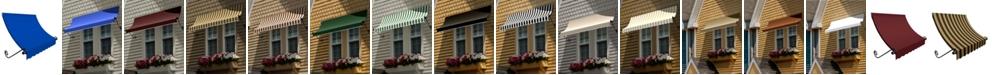 "Awntech 5' Charleston Window/Entry Awning, 31"" H x 24"" D"