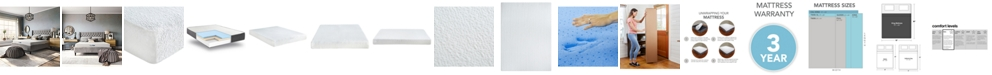 "Sleep Trends Ladan 8"" Cool Gel Memory Foam Firm Tight Top Mattress- King, Mattress in a Box"