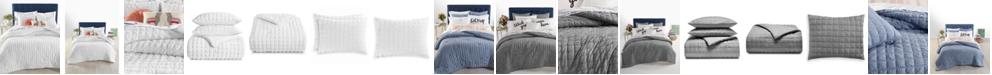 Martha Stewart Collection Seersucker 3-Pc. Full/Queen Comforter Set, Created for Macy's