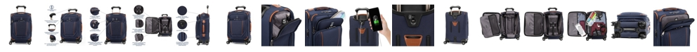 "Travelpro Crew Versapack® 20"" Global Softside Carry-On Spinner"