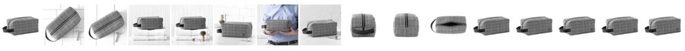 Cathy's Concepts Personalized Glen Plaid Dopp Kit