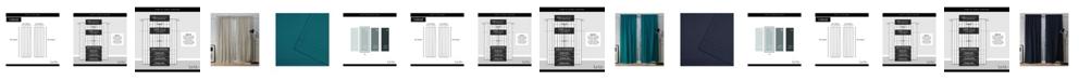 "Exclusive Home Nicole Miller Mellow Slub Textured Hidden Tab Top 54"" X 84"" Curtain Panel Pair"