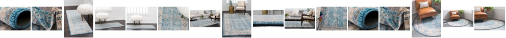 Bridgeport Home Bellmere Bel1 Light Blue Area Rug Collection