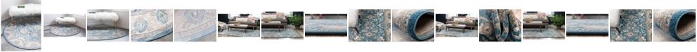 Bridgeport Home Bellmere Bel6 Light Blue Area Rug Collection