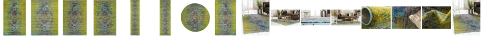 Bridgeport Home Brio Bri6 Green Area Rug Collection