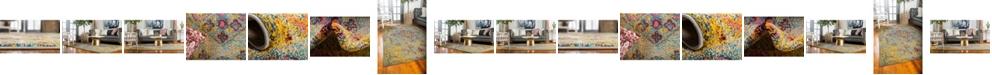 Bridgeport Home Brio Bri1 Yellow Area Rug Collection