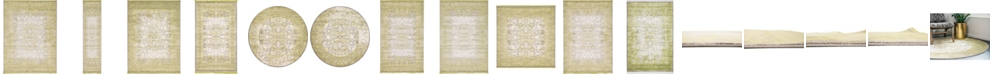 Bridgeport Home Norston Nor3 Light Green Area Rug Collection