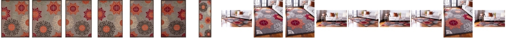 Bridgeport Home Pashio Pas4 Brown Area Rug Collection