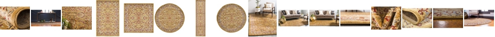 Bridgeport Home Passage Psg9 Dark Yellow Area Rug Collection