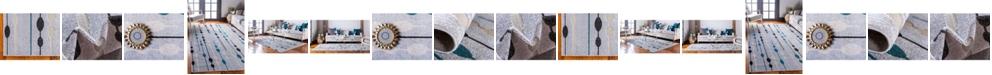 Bridgeport Home Pashio Pas3 Gray Area Rug Collection