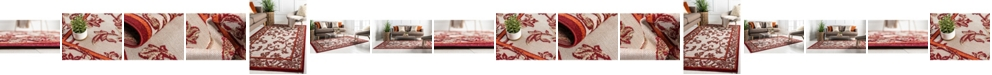 Bridgeport Home Pashio Pas4 Beige/Terracotta Area Rug Collection