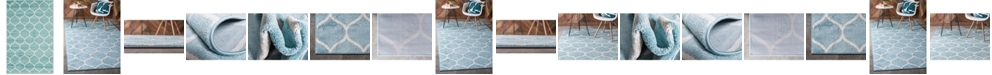 Bridgeport Home Plexity Plx2 Light Blue Area Rug Collection