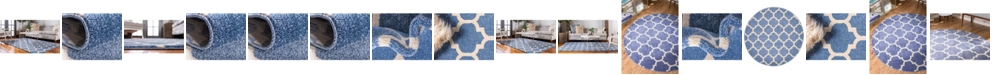 Bridgeport Home Arbor Arb1 Light Blue Area Rug Collection