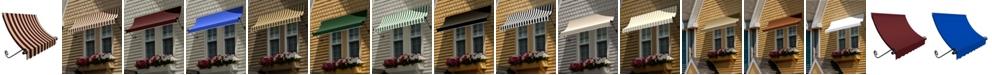 "Awntech 3' Charleston Window/Entry Awning, 31"" H x 24"" D"