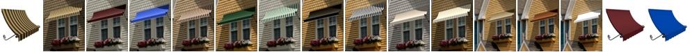 "Awntech 5' Charleston Window/Entry Awning, 44"" H x 36"" D"