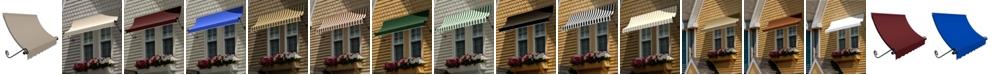 "Awntech 7' Charleston Window/Entry Awning, 18"" H x 36"" D"