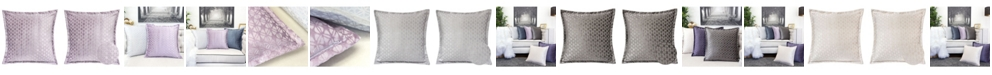 Homey Cozy Isabella Jacquard Throw Pillow, Faya
