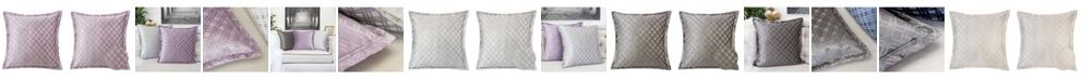 Homey Cozy Emma Jacquard Throw Pillow, Checkered