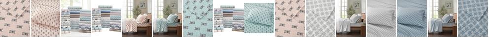 Sleep Philosophy Cozy Flannel Twin XL Cotton Printed Sheet Set