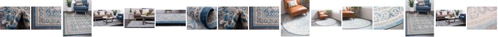 Bridgeport Home Bellmere Bel4 Light Blue Area Rug Collection