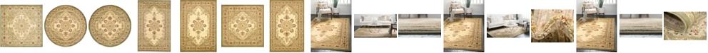 Bridgeport Home Belvoir Blv1 Ivory/Green Area Rug Collection