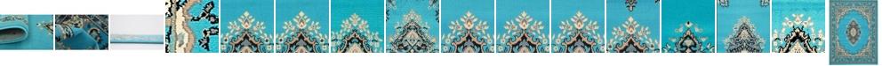Bridgeport Home Birsu Bir1 Turquoise Area Rug Collection