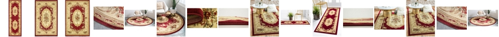 Bridgeport Home Belvoir Blv3 Red Area Rug Collection