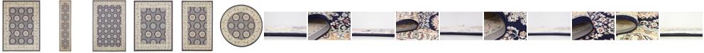 Bridgeport Home Zara Zar8 Navy Blue Area Rug Collection