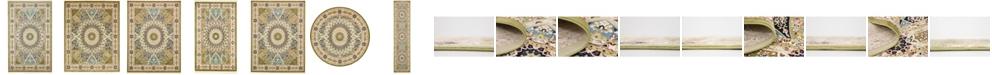 Bridgeport Home Zara Zar9 Green Area Rug Collection