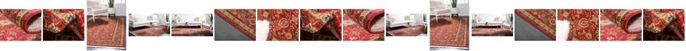 Bridgeport Home Orwyn Orw1 Red Area Rug Collection