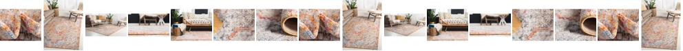 Bridgeport Home Zilla Zil1 Orange Area Rug Collection