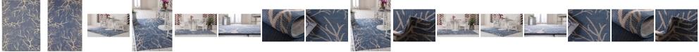 Bridgeport Home Pashio Pas6 Navy Blue Area Rug Collection