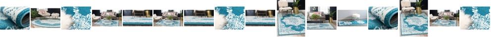 Bridgeport Home Mishti Mis6 Blue Area Rug Collection