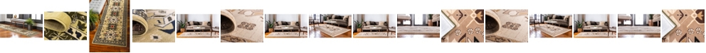 Bridgeport Home Charvi Chr1 Ivory Area Rug Collection