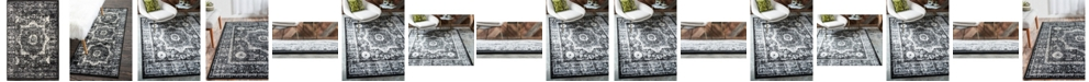 Bridgeport Home Linport Lin7 Black Area Rug Collection