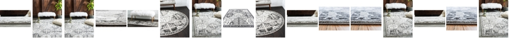 Bridgeport Home Aldrose Ald1 Gray Area Rug Collection