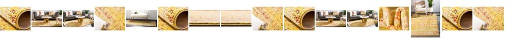 Bridgeport Home Malin Mal8 Yellow Area Rug Collection