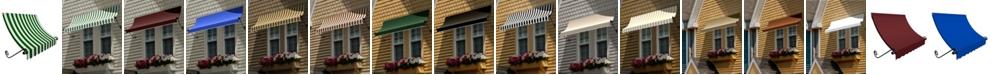 "Awntech 4' Charleston Window/Entry Awning, 18"" H x 36"" D"
