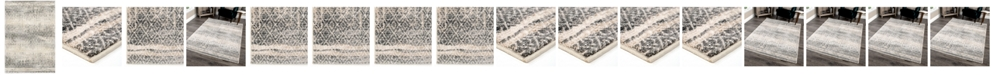 Palmetto Living Riverstone Pinnacle Cloud Gray Area Rug Collection