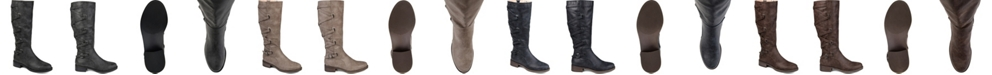 Journee Collection Women's Extra Wide Calf Carly Boot