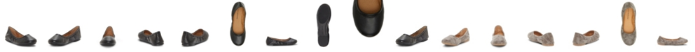 Lucky Brand Kids by Vince Camuto Big Girl's and Little Girl's Classic Ballet Flat with Cinched Topline