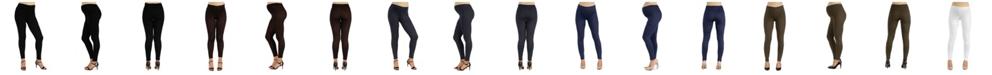 24seven Comfort Apparel Women's Stretch Ankle Length Maternity Leggings