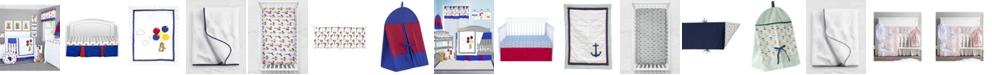 Pam Grace Creations 6 Piece Crib Bedding Set