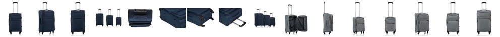 CHAMPS 3-Pc. Brooklyn Softside Luggage Set