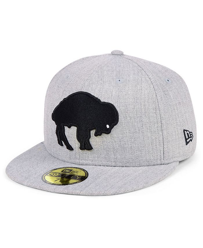 New Era - Heather Black White 59FIFTY FITTED Cap
