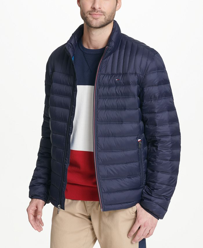 Tommy Hilfiger - Men's Packable Puffer Jacket