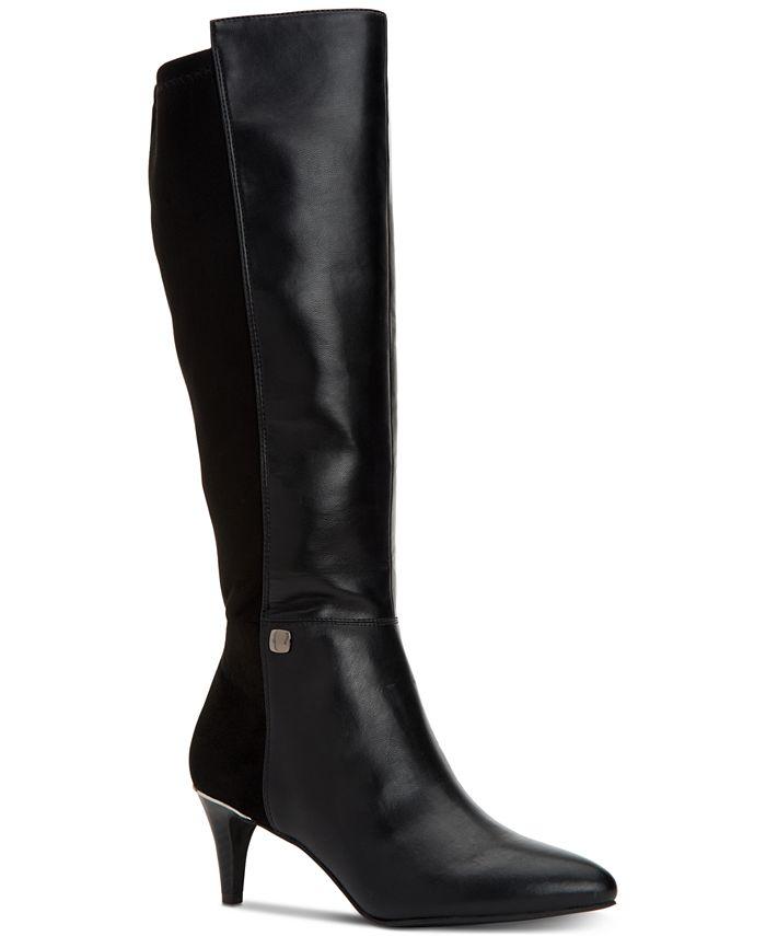 Alfani - Women's Hakuu Wide-Calf Dress Boots