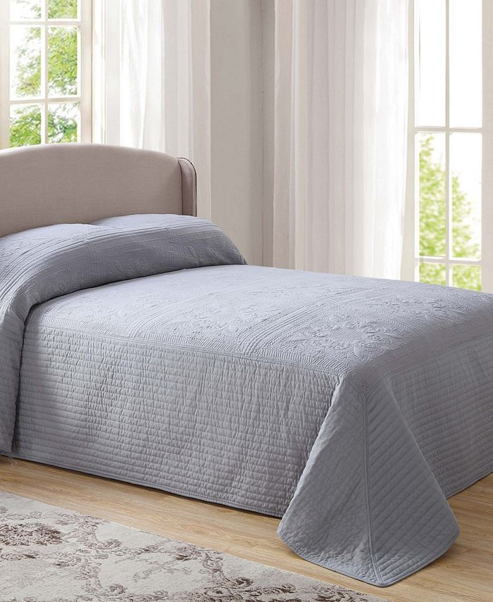 Pem America - French Tile Quilted Bedspread Collection